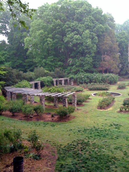 Raleigh Rose Garden arbor