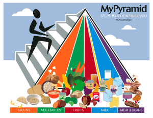 USDA My Pyramid Hey Yoga Man