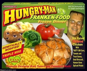 GMO Frankenfood Hey Yoga Man