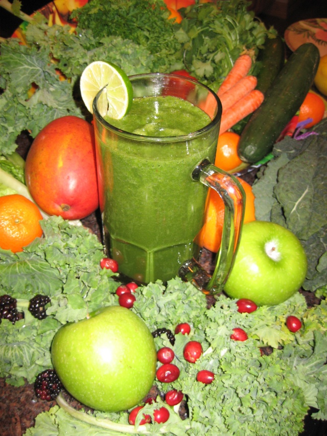 Green Smoothies at the Prison Yoga Practice