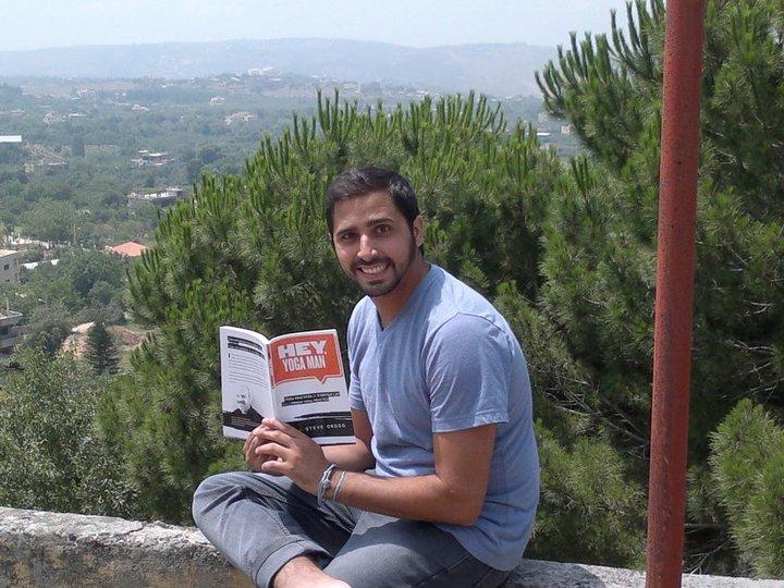 Hey, Yoga Man! in Lebanon Shiva Steve Ordog