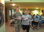 Soldiers at the USO in Kandahar, Afghanistan - Hey, Yoga Man! Shiva Steve Ordog
